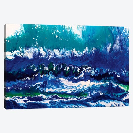 The Rapids Canvas Print #ACK83} by Brigitte Ackland Canvas Wall Art