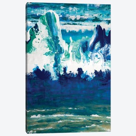 Wave I Canvas Print #ACK94} by Brigitte Ackland Canvas Art