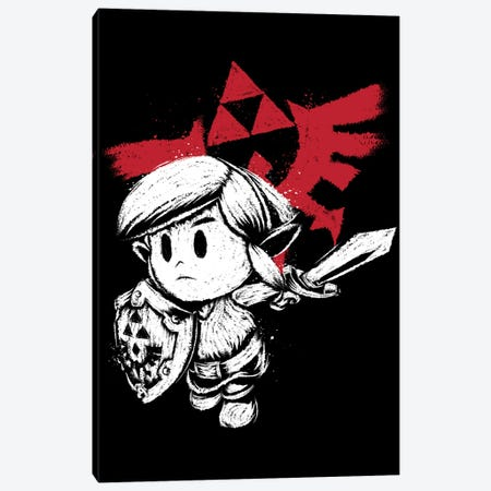 Hylian Hero White Version Canvas Print #ACM103} by Antonio Camarena Canvas Art