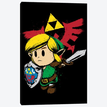 Hylian Hero Canvas Print #ACM104} by Antonio Camarena Canvas Art Print