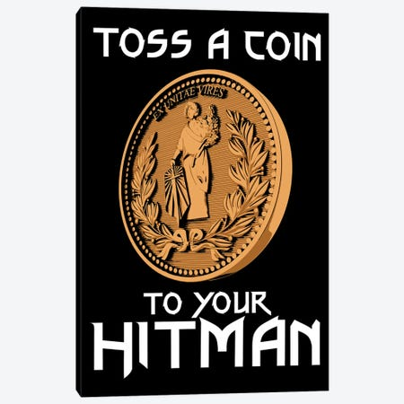 Toss A Coin To Your Hitman Canvas Print #ACM118} by Antonio Camarena Canvas Print