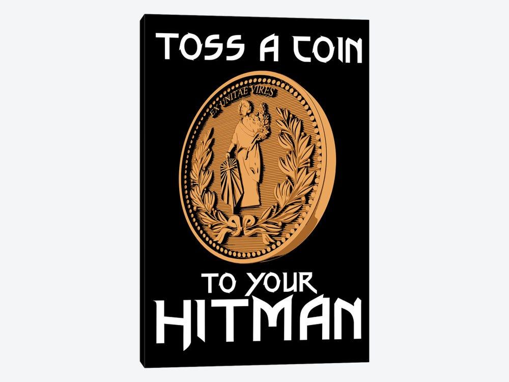 Toss A Coin To Your Hitman by Antonio Camarena 1-piece Canvas Art