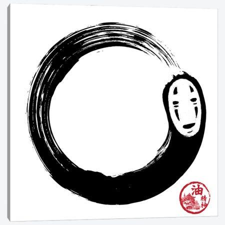 Enso No Face Canvas Print #ACM11} by Antonio Camarena Canvas Art Print