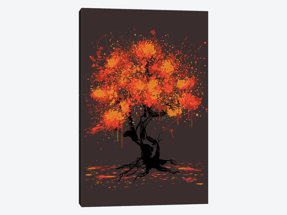 Autumn Tree Painting by Antonio Camarena 1-piece Canvas Artwork