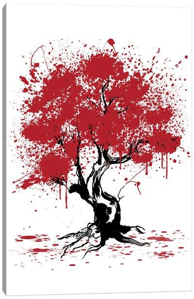 Sakura Tree Painting Canvas Art Print
