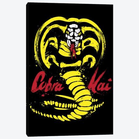 I Am Cobra Kai Canvas Print #ACM138} by Antonio Camarena Canvas Art Print