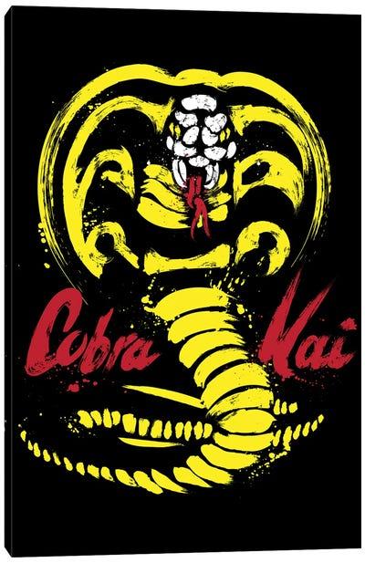 I Am Cobra Kai Canvas Art Print