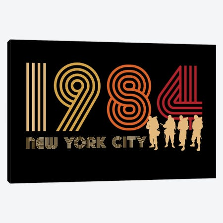 New York City 1984 Canvas Print #ACM211} by Antonio Camarena Canvas Wall Art