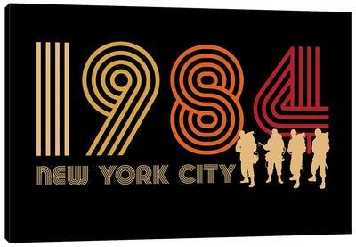 New York City 1984 Canvas Art Print