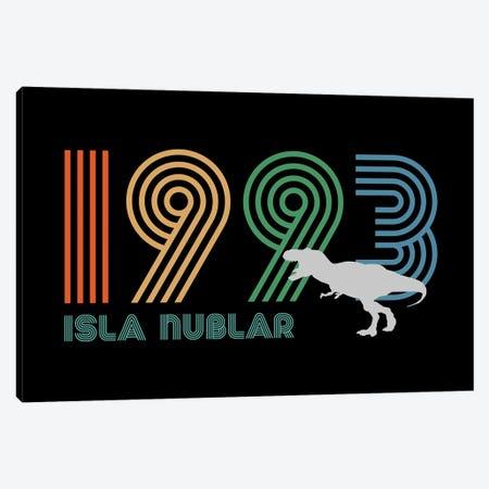 Isla Nublar 1993 Canvas Print #ACM212} by Antonio Camarena Canvas Art