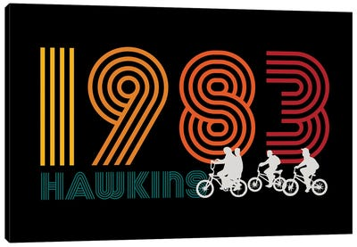 Hawkins 1983 Canvas Art Print