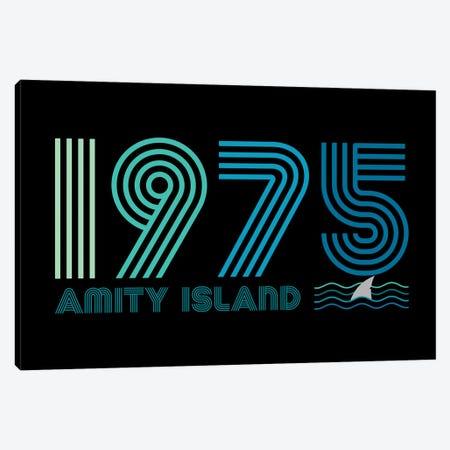 Amity Island 1975 Canvas Print #ACM215} by Antonio Camarena Canvas Art Print