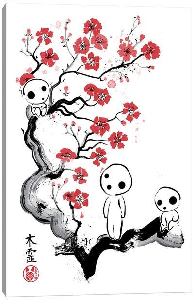 Little Forest Spirits Canvas Art Print