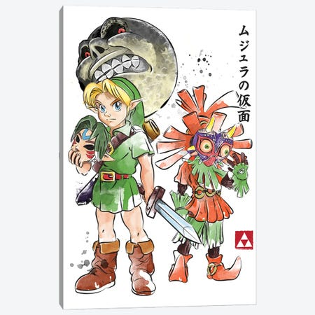 Majora's Mask Canvas Print #ACM25} by Antonio Camarena Canvas Print