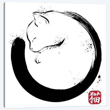Purrfect Circle Canvas Print #ACM33} by Antonio Camarena Canvas Print