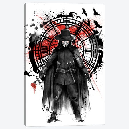Remember The Fifth Of November Canvas Print #ACM35} by Antonio Camarena Canvas Art