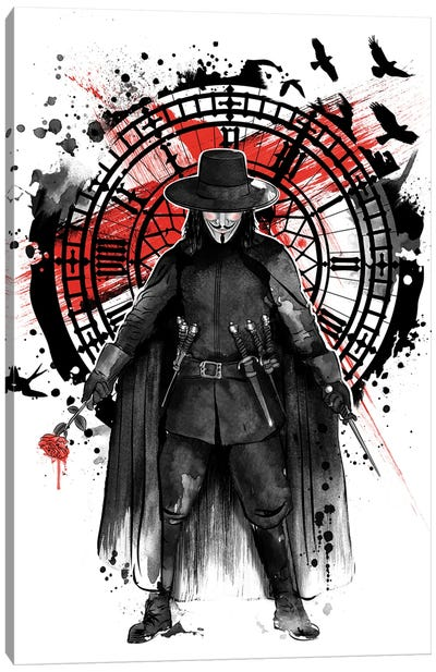 Remember The Fifth Of November Canvas Art Print