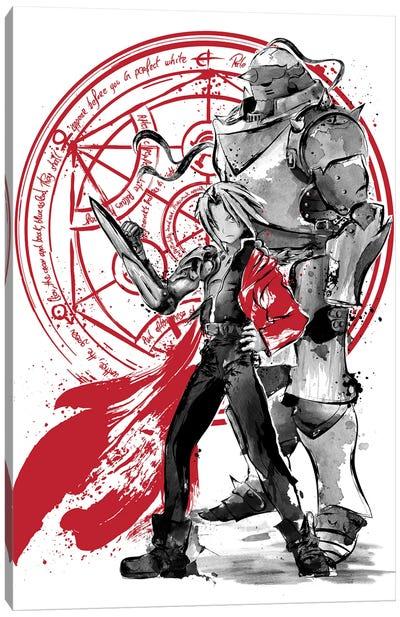 Alchemist Brothers Canvas Art Print