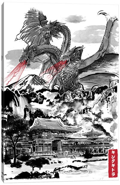The Rise Of The King Of Terror Canvas Art Print