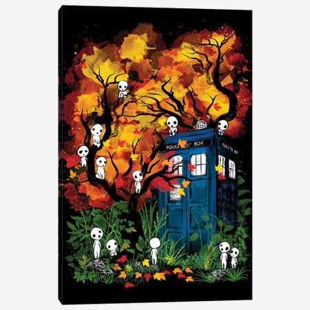 The Doctor In The Forest Canvas Print #ACM44} by Antonio Camarena Canvas Print