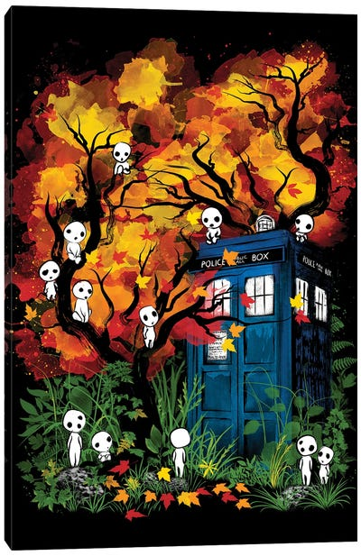 The Doctor In The Forest Canvas Art Print