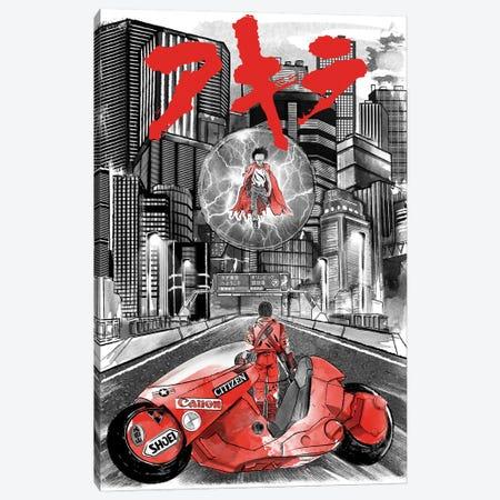 Welcome To Neo Tokyo Canvas Print #ACM48} by Antonio Camarena Canvas Artwork