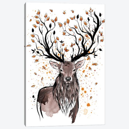 Autumn Feelings Canvas Print #ACM5} by Antonio Camarena Art Print