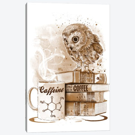 Coffee Obsession Canvas Print #ACM6} by Antonio Camarena Canvas Print