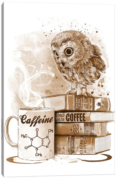 Coffee Obsession Canvas Art Print