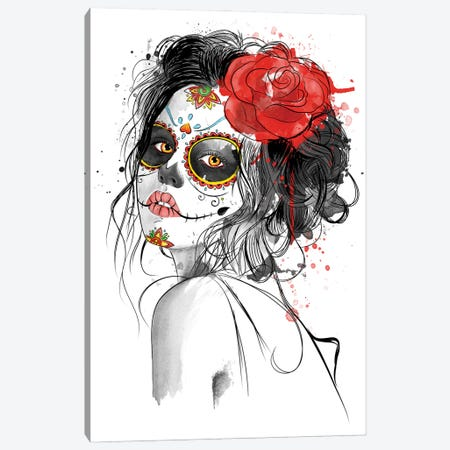 Día De Los Muertos Canvas Print #ACM7} by Antonio Camarena Canvas Print