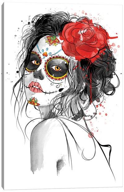 Día De Los Muertos Canvas Art Print