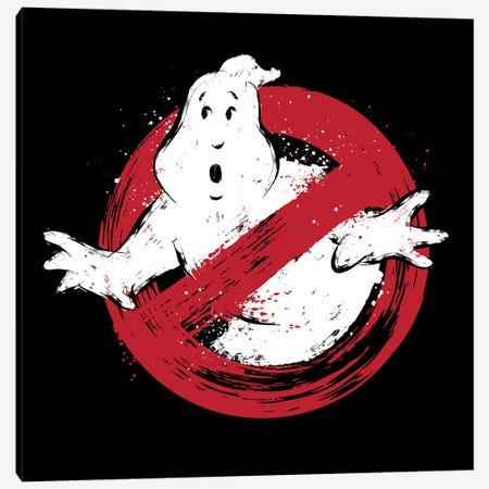 I Am A Ghostbusters Canvas Print #ACM81} by Antonio Camarena Canvas Wall Art