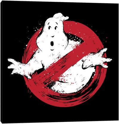 I Am A Ghostbusters Canvas Art Print