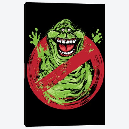 Slimerbusters Canvas Print #ACM82} by Antonio Camarena Canvas Artwork