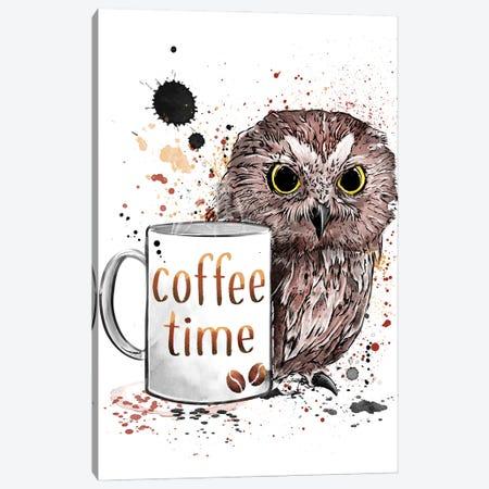 Coffee Time Canvas Print #ACM8} by Antonio Camarena Canvas Art