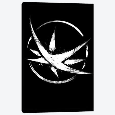 The Obsidian Star Symbol Canvas Print #ACM90} by Antonio Camarena Canvas Print