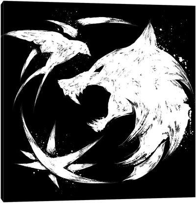 The Witcher Symbol Canvas Art Print