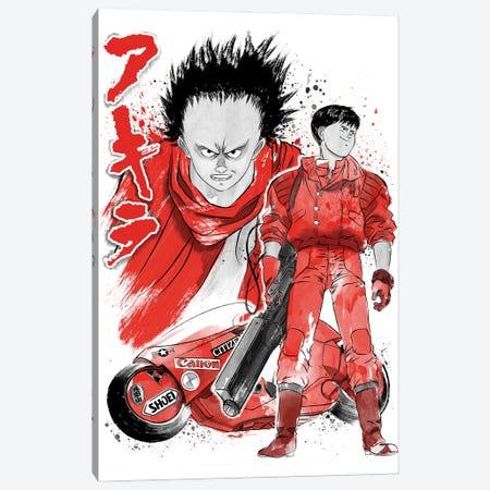 Kaneda And Tetsuo Sumi-E Canvas Print #ACM96} by Antonio Camarena Canvas Art