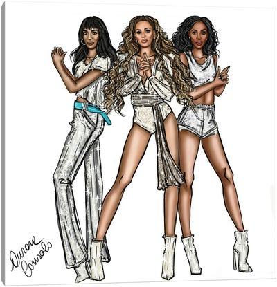Destiny's Child Canvas Art Print