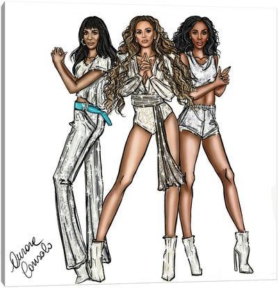 Destiny's Child Canvas Art Print