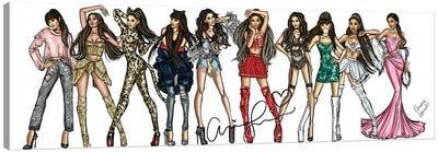 Ariana Grande Carrier Canvas Art Print