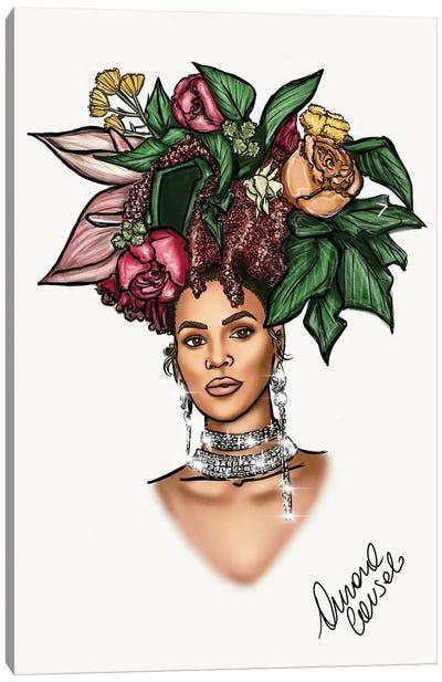 Bey Vogue Canvas Art Print
