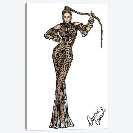 Beyoncé Canvas Print #ACN8} by AtelierConsolo Art Print