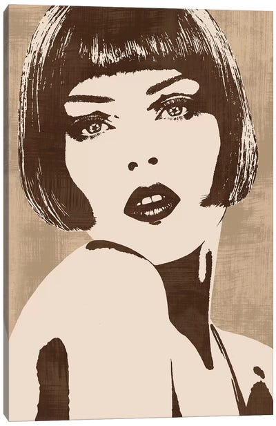 In Style I Canvas Art Print