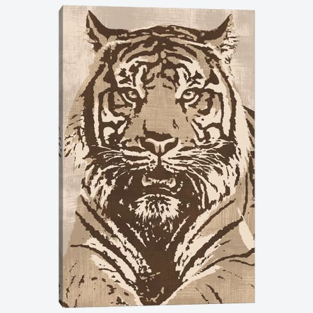 Tiger Canvas Print #ACP9} by Andrew Cooper Canvas Wall Art