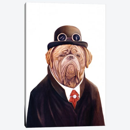 Dogue De Bordeaux Canvas Print #ACR13} by Animal Crew Canvas Art