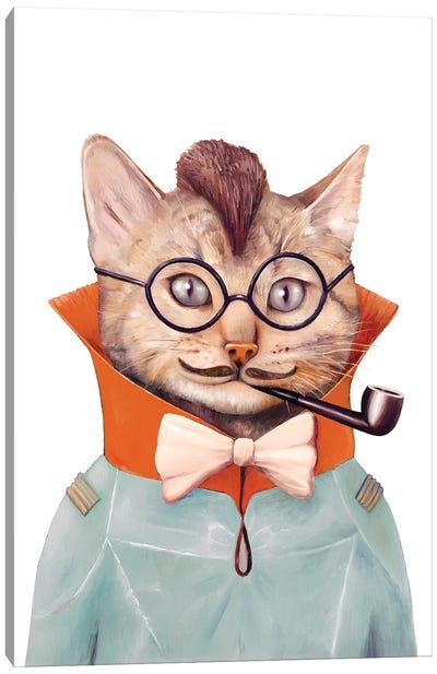 Eclectic Cat Canvas Art Print