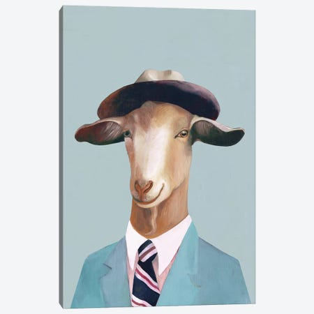 Goat Canvas Print #ACR19} by Animal Crew Canvas Art