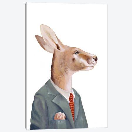Kangaroo Canvas Print #ACR26} by Animal Crew Canvas Art
