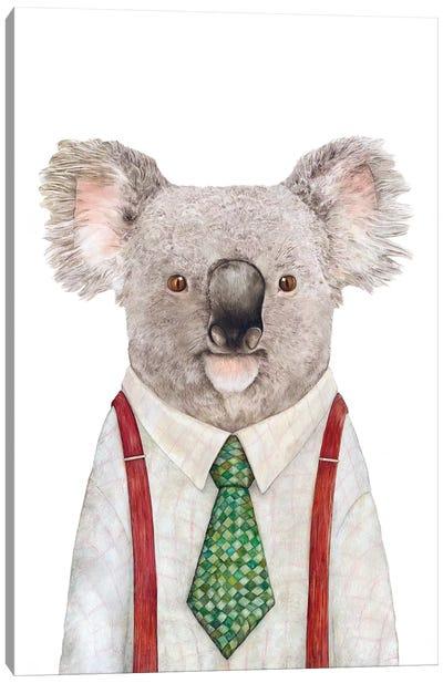 Koala Canvas Art Print